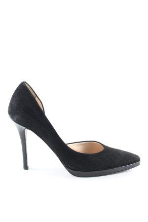 Colombo Stiletto noir style d'affaires
