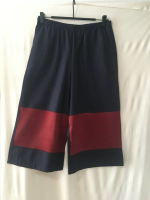 color block bermudas pants, meshit