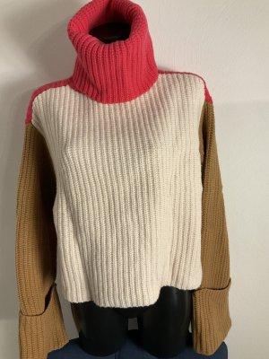 Color block Pullover Gr 38