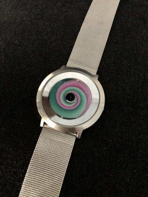 Color Inspiration Montre avec bracelet métallique multicolore métal