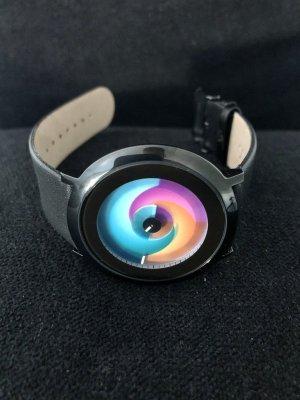 Color Inspiration Montre avec bracelet en cuir multicolore cuir