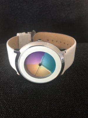 Color Inspiration Zegarek ze skórzanym paskiem Wielokolorowy Skóra
