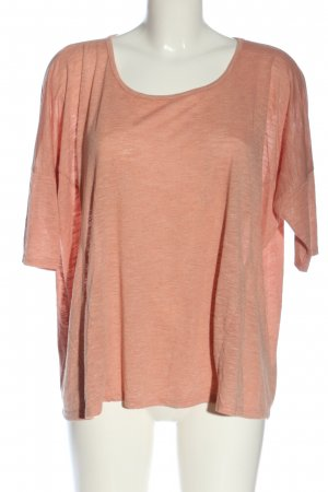 Color Me Red Oversized Shirt light orange casual look