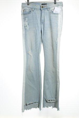 Colorado Denim 7/8 Jeans hellblau Destroy-Optik