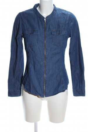 Colorado Denim Camicia denim blu stile casual