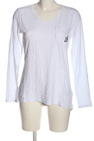 Colorado Denim Camicetta a maniche lunghe bianco stile casual