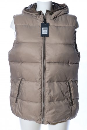 Colorado Denim Quilted Gilet brown quilting pattern casual look