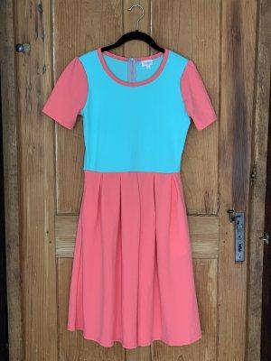Colorblock Kleid mit Taschen