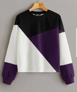 SheIn Long Sweater multicolored polyester