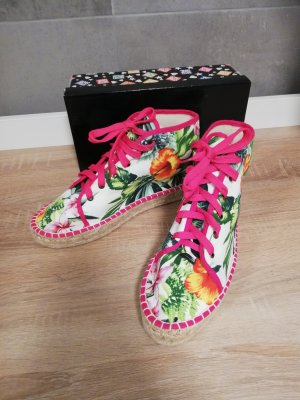 Colors of California Lace-Up Sneaker multicolored