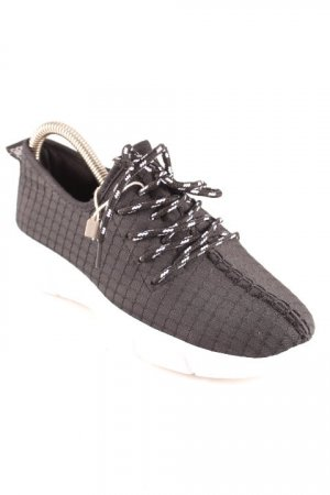 Colors of California Lace-Up Sneaker black-white casual look