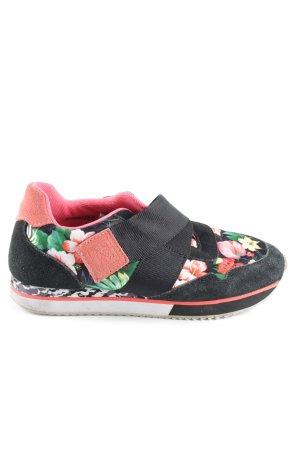 Colors of California Velcro Sneakers flower pattern casual look