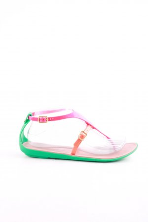 Colors of California Zehentrenner-Sandalen mehrfarbig Casual-Look