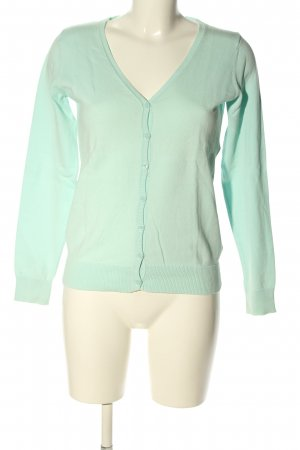 Colors of the world Cardigan turquoise casual look