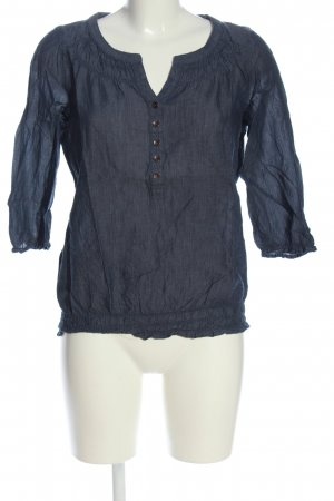 Colors of the world Carmen Shirt blue casual look