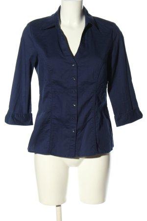 Colors of the world Camicia blusa blu stile casual