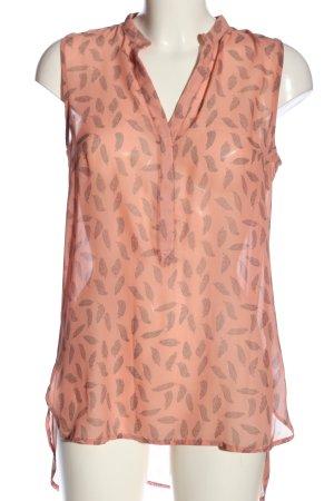 Colors of the world Camicetta a maniche corte rosa-grigio chiaro stile casual