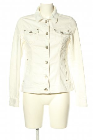 Colors of the world Giacca corta bianco stile casual