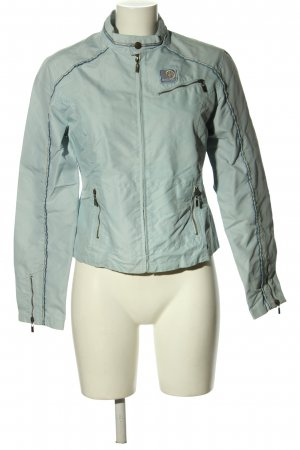 Colors of the world Short Jacket turquoise casual look