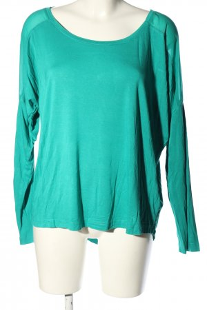 Colors of the world Longsleeve turquoise casual look