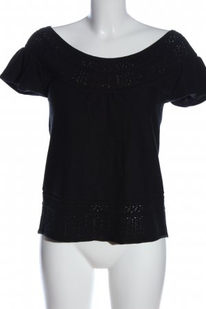 Colors of the world Lace Blouse black casual look