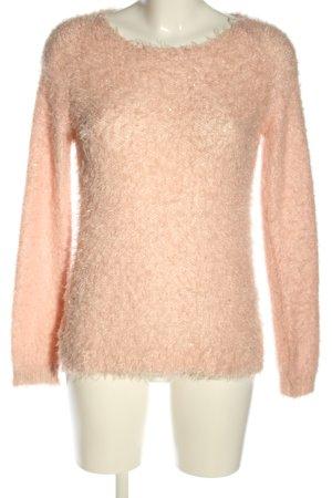 Colors of the world Maglione lavorato a maglia crema stile casual
