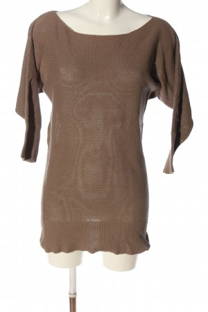 Colors of the world Knitted Jumper brown casual look