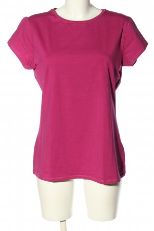 Colors of the world T-shirt rose style décontracté
