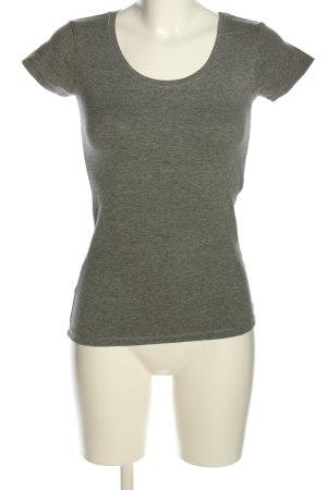 Colors of the world T-shirt grigio chiaro puntinato stile casual