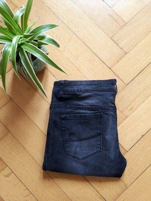 Coloured Jeans Black