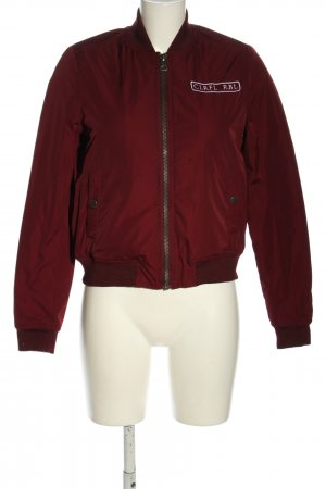Colourful Rebel Bomberjacke rot Casual-Look