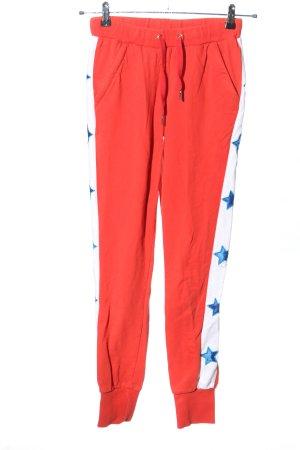 Colourful Rebel Pantalón deportivo estampado temático look casual