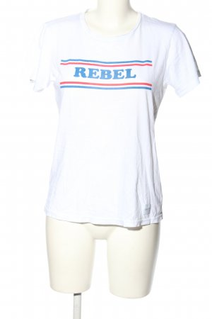 Colourful Rebel T-Shirt printed lettering casual look