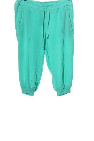 Colours of the World Pantalon 3/4 turquoise style décontracté