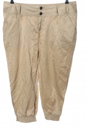 Colours of the World Pantalone a 3/4 bianco sporco stile casual