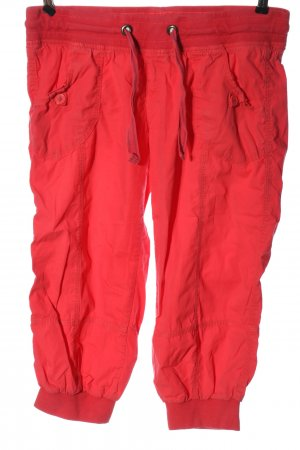 Colours of the World 3/4 Length Trousers red casual look