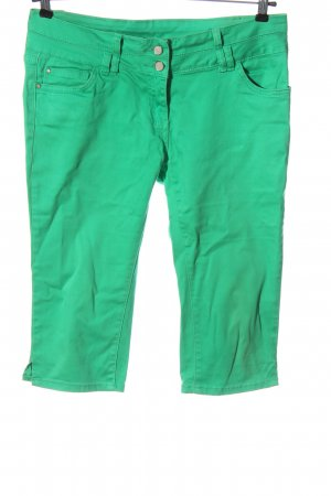 Colours of the World Pantalon capri vert style décontracté