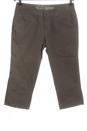 Colours of the World 3/4 Length Trousers brown casual look