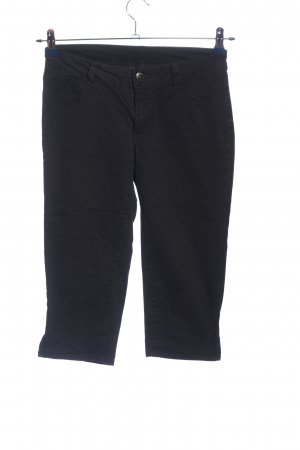 Colours of the World 3/4 Length Trousers black casual look