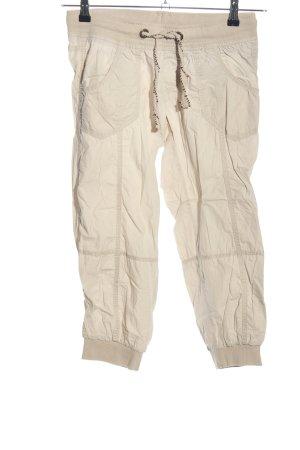Colours of the World Pantalon 3/4 blanc cassé style décontracté