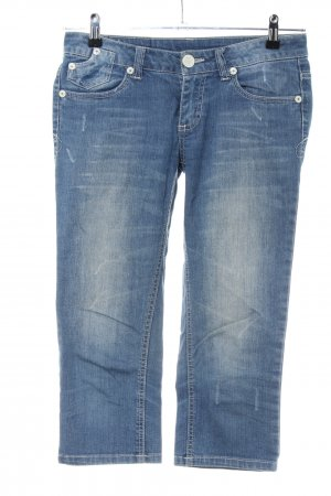 Colours of the World 3/4-jeans blauw casual uitstraling