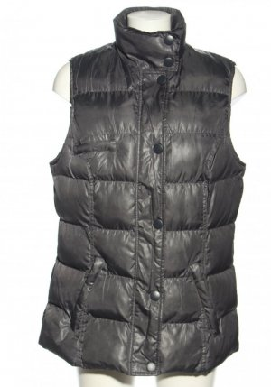 Colours of the World Quilted Gilet black-dark grey