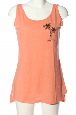 Colours of the World Basic topje licht Oranje casual uitstraling
