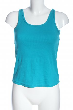 Colours of the World Basic topje turkoois casual uitstraling