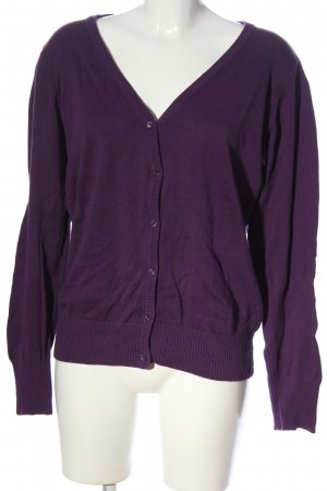 Colours of the World Cardigan lila Casual-Look