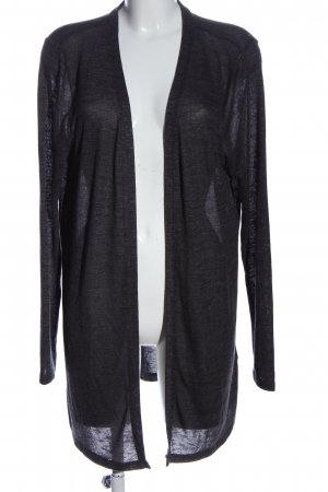 Colours of the World Cardigan schwarz meliert Casual-Look