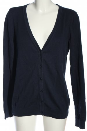 Colours of the World Cardigan blau Business-Look
