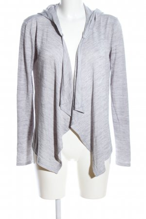 Colours of the World Cardigan hellgrau meliert Casual-Look