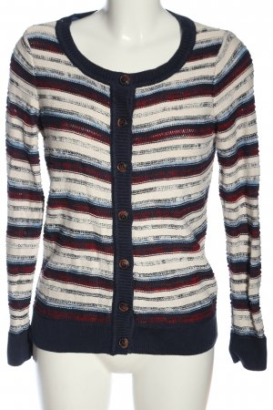 Colours of the World Cardigan motivo a righe stile casual