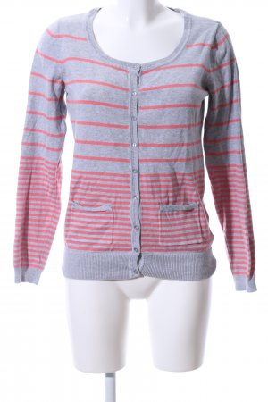Colours of the World Cardigan hellgrau-pink meliert Casual-Look